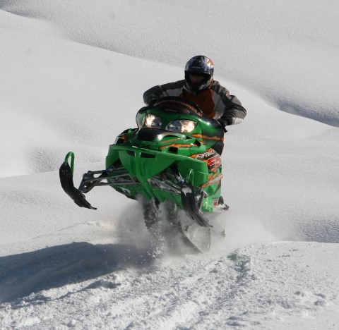 Snow-Mobile Incentive Saalbach